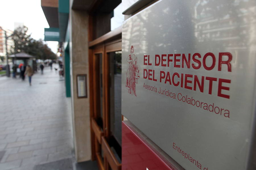 Vista exterior de 'El Defensor del Paciente'.