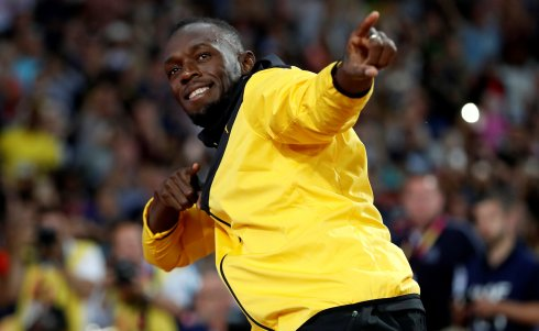 Bolt, en Londres. :: reuters  /