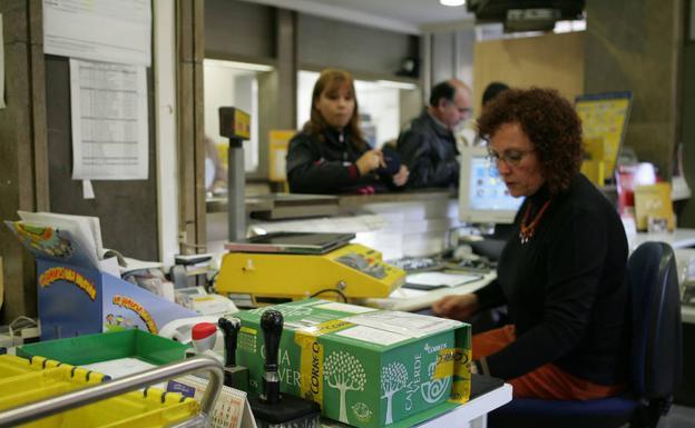 La oposici n de logro o defender una moci n a favor del for Oficina de correos logrono