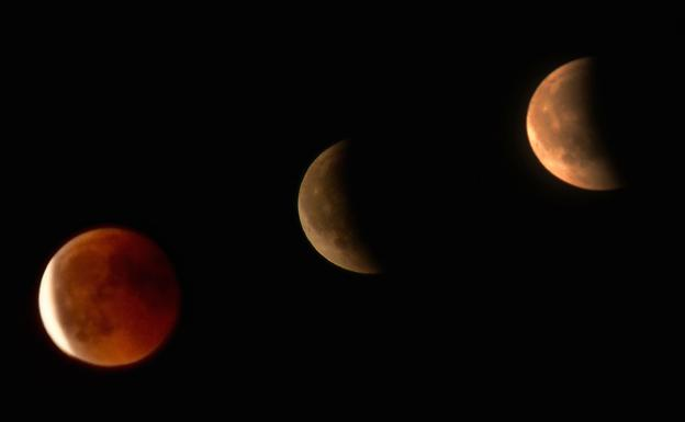 Luna de sangre: Sigue el eclipse lunar más largo del siglo