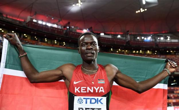 Muere Nicholas Bett, campeón mundial de 400m vallas