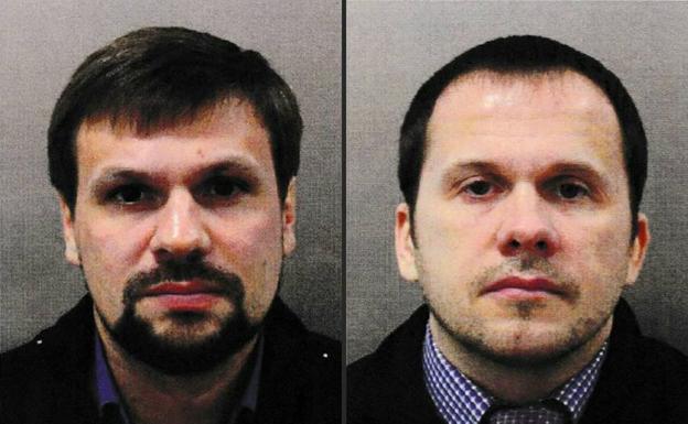 Dos ciudadanos rusos con orden de detención por caso Skripal