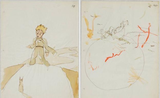 Encuentran dibujos originales de 'El Principito' abandonados en una casa vieja — Increíble