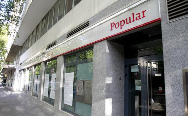Antigua sucursal del Banco Popular.