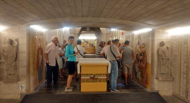 Rupnik culmina la cripta del Santo | La Rioja