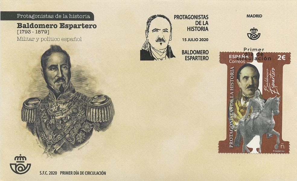 Sobre conmemorativo en homenaje al príncipe de Vergara. / CORREOS