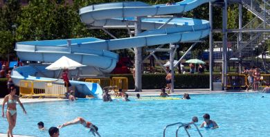 Un caro chapuz n la rioja for Camping en la rioja con piscina